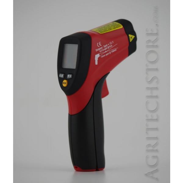 Infrared heat probe