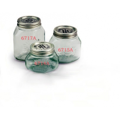 Glass jars for vacuum liter 1/2