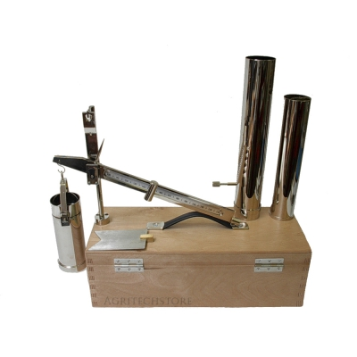 Weighing used to determinate the specific weight P.S.100