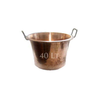 Copper pot 40 liters