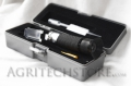 Refractometer for optical glycol and Batteries