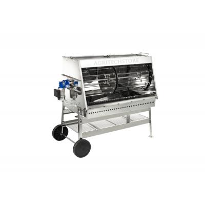 Rotisserie Ferraboli Art.580 Stainless Steel Inches. 120 cm.