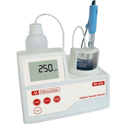 Mini titrator for sulfur dioxide Mi455
