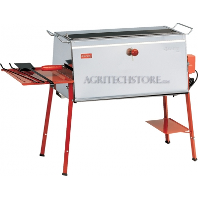Stainless steel rotisserie Brescia Cm.70 to 4 spears.