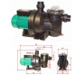 Self-priming swimming pool pumps Swin Master 800
