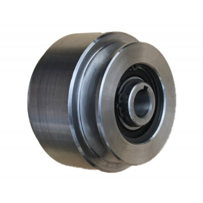 Centrifugal clutch pulley diameter 85 mm. A throat