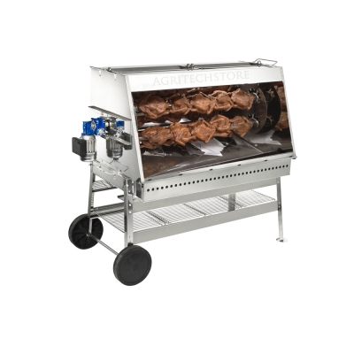 Rotisserie Ferraboli Art.580 Stainless Steel Inches. 120 cm.
