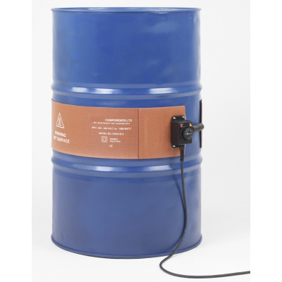 Scaldafusto Metal 105 liters 125x1300