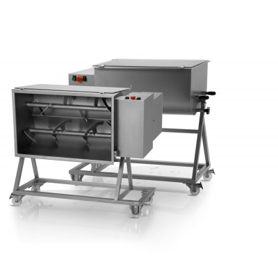 Stainless steel meat Mixers With Two Paddles 50 kg