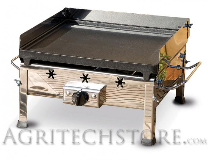 Bistecchiera Ferraboli,Plancha inox Art.091A