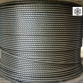 Hammered rope Ø 11 mm 156 wires