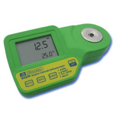 Digital Refractometer for measurements of Sodium Chloride MA886