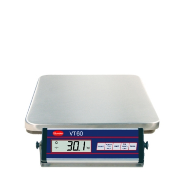 Libra VT60 stainless in stainless steel - Capacity 60 Kg.