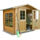 Wooden house Cm. 250x200 interlocking Mod. Azur