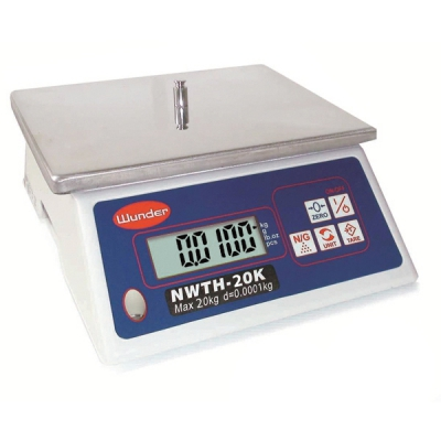 Multipurpose compact scale with capacity 20 kg