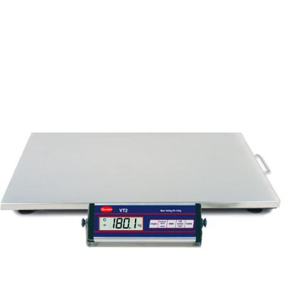 Libra VT2 150/300 kg. INOX in stainless steel - Capacity 300 Kg.