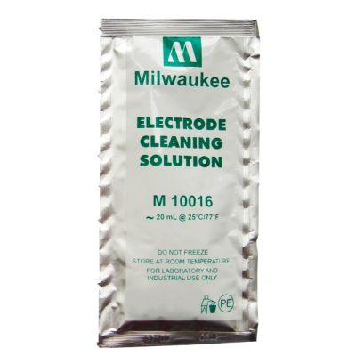 Cleaning solution for electrodes in sachets of 20 ml M10016B