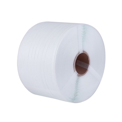 Polypropylene strapping PP Colour White mm. 12x0,6 mt. 3000