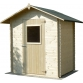 Wooden house Cm. 180x130 interlocking Besagno