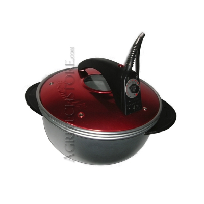 Electric Oven Petronilla Red