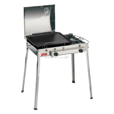 Combinato STAINLESS STEEL Barbecue Art. 093