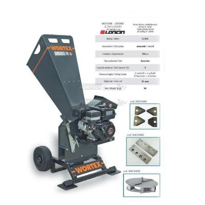 Shredder Chipper CHIPPER T 200 L