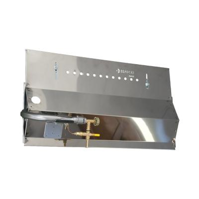 Gas panel for Rotisserie 100 cm 4 Lance