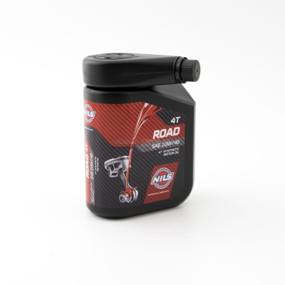 ROAD SAE 10W/40 Synthetic oil for 4-stroke engines 1 liter